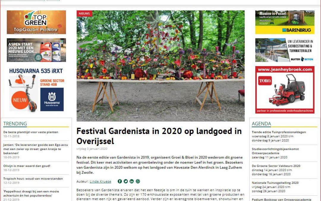Gardenista in de media