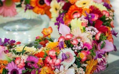 Demonstratie bloemschikken – Ruud Hazelaar
